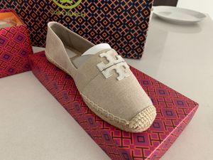 Tory burch shoes espadrille 8.5 US for Sale in Doral, FL