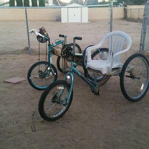 Two Custom Rat Rod Hand Bikes for Sale in Hesperia, CA