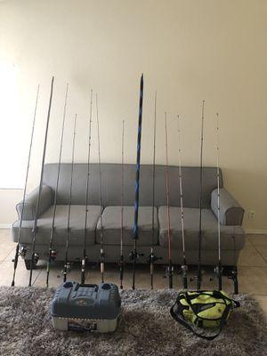 Fishing rods for Sale in Glendale, AZ