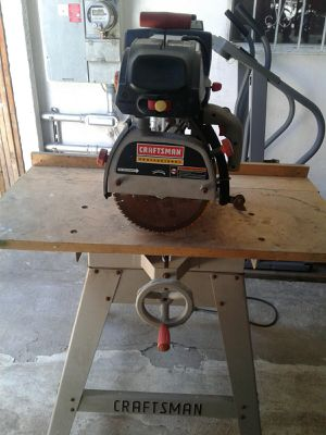 Craftsman Radial Arm Saw for Sale in Los Angeles, CA