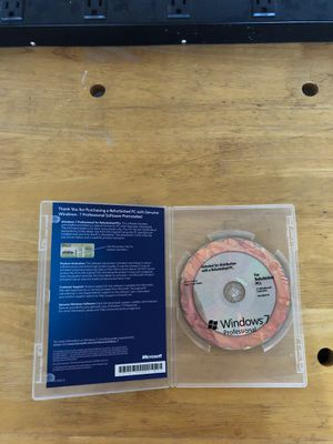 Official Windows 7 cd no key for Sale in Goodyear, AZ