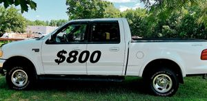 OWNER $800__2002 Ford F150 XLT Luxury Sport Package for Sale in Fresno, CA