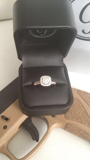 Diamond ring rose gold for Sale in Columbus, OH