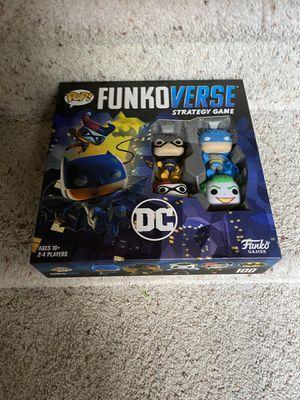 FunkoVerse Board Game: DC Theme for Sale in Lincoln, NE