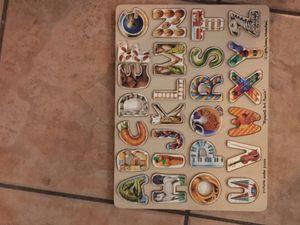 ABC puzzle for Sale in Phoenix, AZ