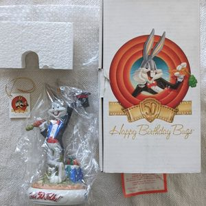 Limited Edition Looney Tunes Bugs Bunny Happy 50th Anniversary Fine Porcelain Statue Figure for Sale in San Francisco, CA