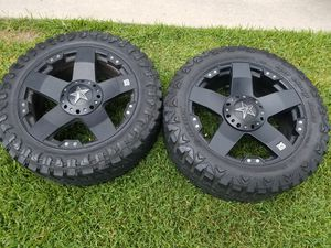 4 tires and rims 6 bolts universal for Sale in Houston, TX