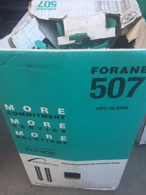 Refrigerant 507 three full tanks of 25lbs ea. for Sale in Whittier, CA