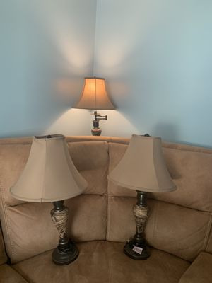lamps in good condition for Sale in Providence, RI