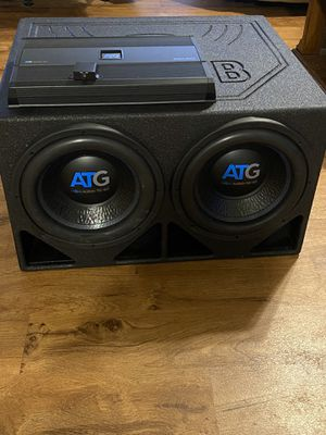 (ATG) Audio to go subwoofers for Sale in Joplin, MO