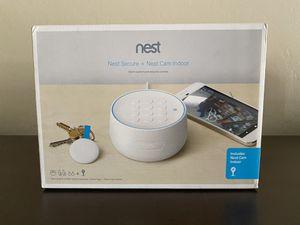 Nest Secure Alarm + Nest Cam Indoor Camera BEC1400US for Sale in Mesa, AZ