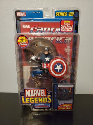 Marvel Legends Ultimate Captain America (Toybiz) for Sale in Chicago, IL