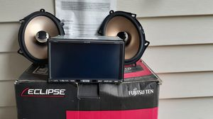 Eclipse 7 in double din navigation car audio equipment for Sale in Columbus, OH