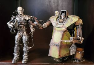 2 McFarlane Cyborg Action Figures 2002 for Sale in Lakewood, CA