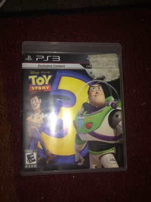 Ps3 toy story 3 for Sale in Evansville, IN