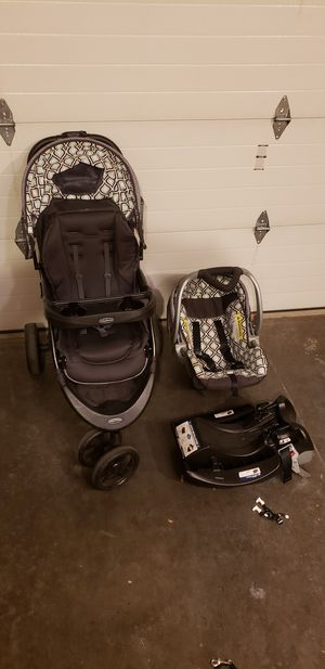 Baby Trend. Stroller, Car seat with mount. for Sale in Battle Ground, WA