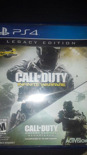 Call of duty infinite warfare COD IW ps4 for Sale in Bridgeport, PA