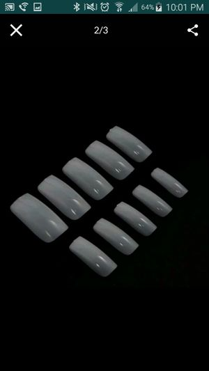 500 pcs false nails size 0-9 for Sale in Staten Island, NY