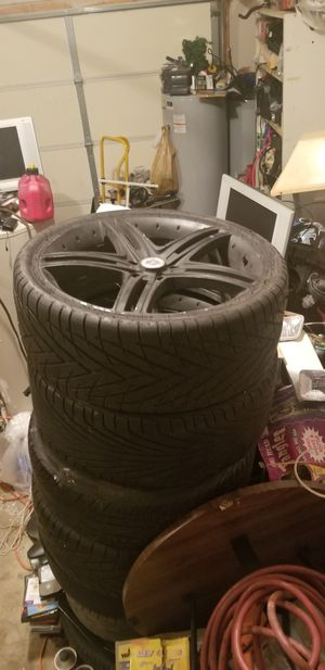 Rims with tire for Sale in Nashville, TN
