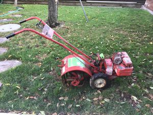 Briggs & Stattion 5 HP Rototiller good condition Electric ignition price is firm for Sale in San Jose, CA