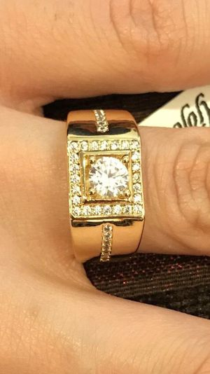 UNISEX-18K Gold plated Engagement/Promise Ring - Code WQ810 for Sale in Dallas, TX