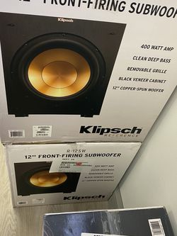 Klipsch R-12SW Reference Powered Subwoofer for Sale in Seattle,  WA