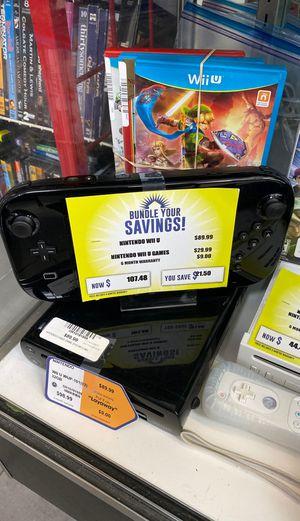 Nintendo Wii U Bundle with Games for Sale in Orlando, FL