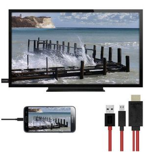 1080p MHL Micro USB To HDMI HD TV Cable Adapter for Android Smart Phones for Sale in St. Petersburg, FL