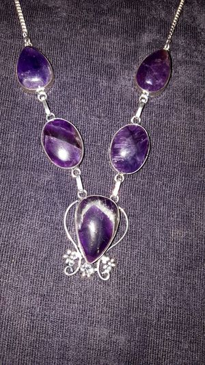 Beautiful Amethyst Gemstone Necklace for Sale in Newport, TN