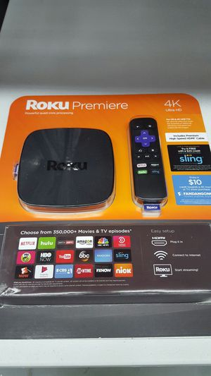 Roku Premier 4K for Sale in Raleigh, NC