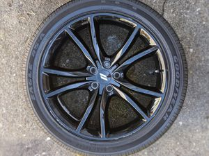 """20"""" CHARGER CHALLENGER RT BLACK CHROME RIMS for Sale in Richmond, CA"""