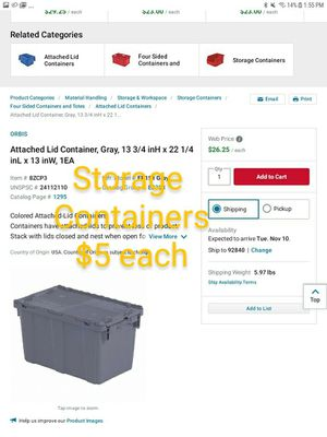 Storage containers for Sale in Huntington Beach, CA