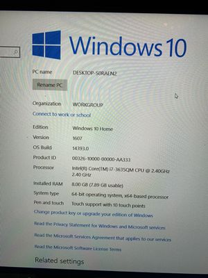 SAMSUNG 2014 laptop barley ever used for Sale in Seattle, WA