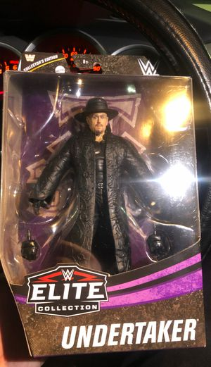 The Undertaker Elite Action Figure for Sale in Garden Grove, CA