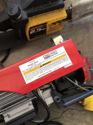 Electric hoist 440 Lbs. for Sale in Bend, OR