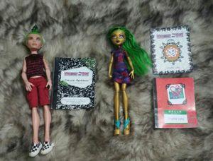 Vintage Monster High Jianfire Long & Deuce Gorgon Set. for Sale for sale  Queens, NY