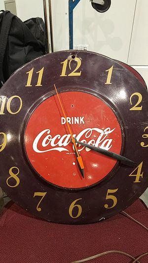 Antique electric Coca-Cola clock for Sale in Castro Valley, CA
