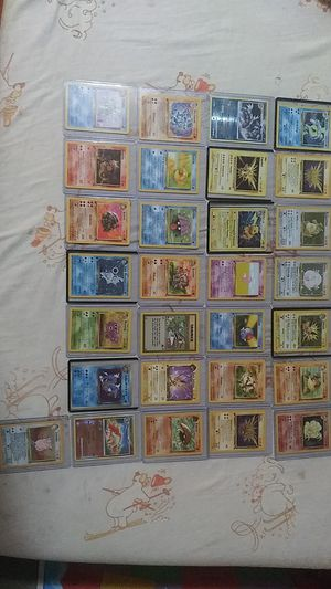 First edition pokemon and 1995 promo cards very rare for Sale in Whitehall, OH