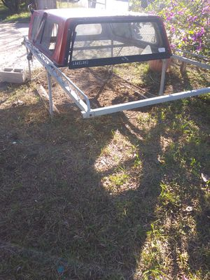 Camper and steel rack for chevy s10 for Sale in Pharr, TX