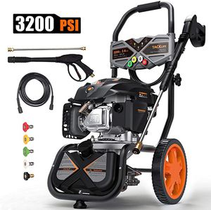 3200PSI Gas Pressure Washer, 2.4GPM 6.5HP Power Washer with 5 Quick-Connect nozzles,4-Stroke OHV Engine,Includes 25ft Hose& Detergent Tank-GSH01B for Sale in Newcastle, WA