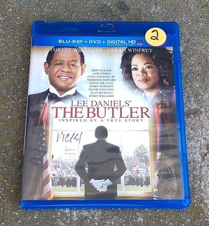 Lee Daniels The Butler Blu-ray and DVD for Sale in San Diego, CA
