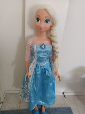 My size Elsa doll for Sale in San Marcos, CA