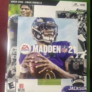 Madden 21 - XBOX 1 for Sale in Hollywood, FL