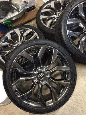 "18"" Hyundai Veloster Re:Flex Edition Wheels 5x114.3 Chrome Rims for Sale in Laurel, MD"