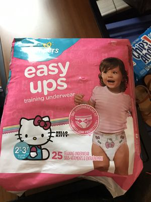 Pampers easy up for Sale in Fontana, CA