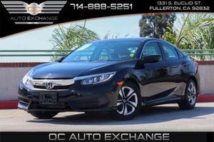 2016 Honda Civic Sedan for Sale in Fullerton, CA