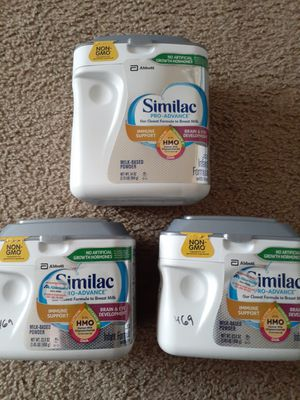 Similac pro advance .Available for Sale in Everett, WA