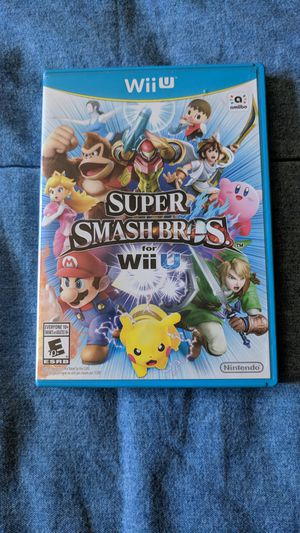 Super Smash Bros for Nintendo Wii U for Sale in Meridian, ID