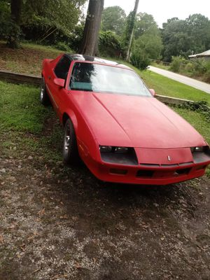 1987 t top camaro for Sale for sale  Conyers, GA
