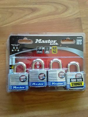 Master Lock Value Pack 1 Compatible Key to all 4 Locks for Sale in Phillips Ranch, CA